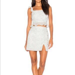 J.O.A. Lace Mini Skirt